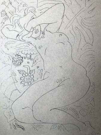 Litografía Matisse - Moments de timidité 45X60 CM EDITION CAHIERS D'ART