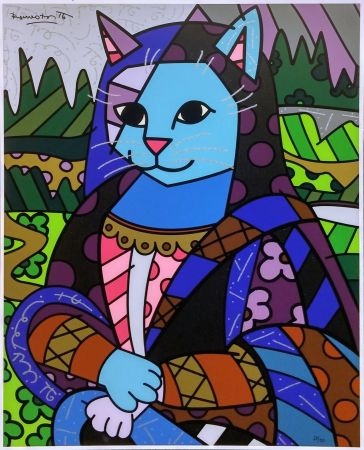 Serigrafía Britto - MONA CAT