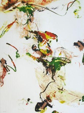 Litografía En Joong - Monde imaginaire VII