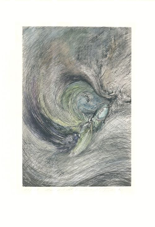 Grabado Tschermak - Mondgedicht