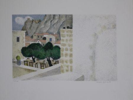 Litografía Breiter - Monemvasia