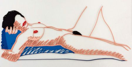 Múltiple Wesselmann - Monica lying on her back
