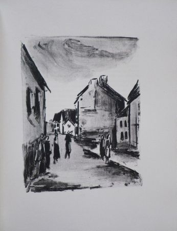 Libro Ilustrado Vlaminck - Mont-Cinère.  Lithographies de Vlaminck.
