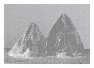 Estampa Numérica Lamm - Montagnes