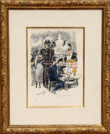 Litografía Van Dongen - Montmartre 1900
