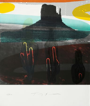 Litografía Soulie - Monument Valley I I