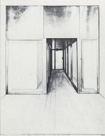 Serigrafía Christo - Monuments, Store Front Corridor