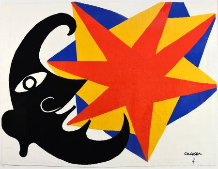 Sin Técnico Calder - Moon and Star Tapestry