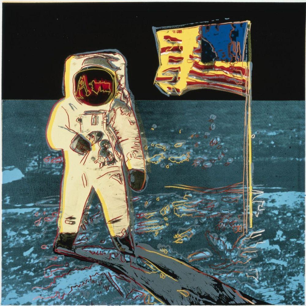 Serigrafía Warhol - Moonwalk (FS II.404)