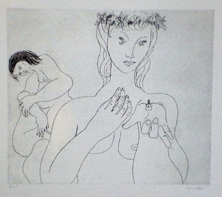 Aguafuerte Y Aguatinta Condo - More sketches of Spain-For Miles Davis 1