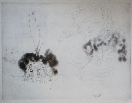 Aguafuerte Y Aguatinta Condo -   More sketches of Spain-For Miles Davis 11