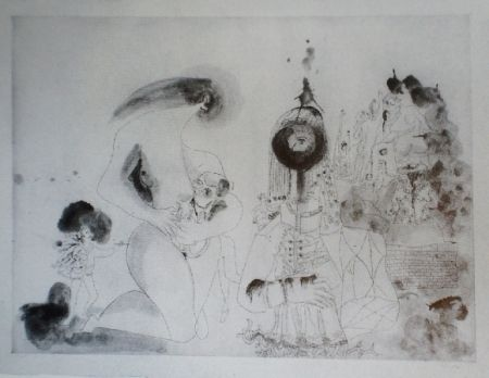 Aguafuerte Y Aguatinta Condo -  More sketches of Spain-For Miles Davis 12