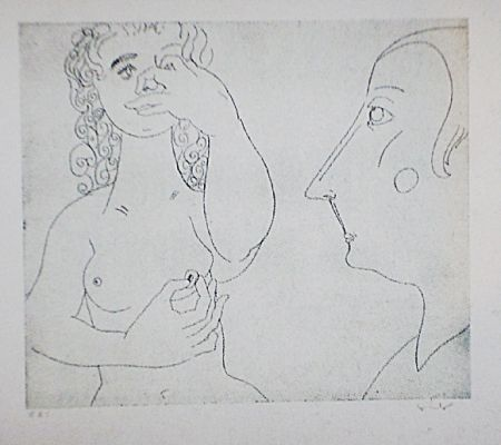 Aguafuerte Y Aguatinta Condo - More sketches of Spain-For Miles Davis 2