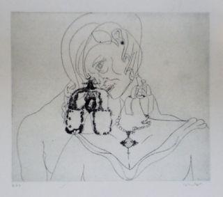 Aguafuerte Y Aguatinta Condo - More sketches of Spain-For Miles Davis 3