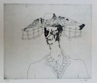 Aguafuerte Y Aguatinta Condo - More sketches of Spain-For Miles Davis 4