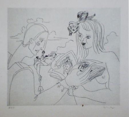 Aguafuerte Y Aguatinta Condo - More sketches of Spain-For Miles Davis 6
