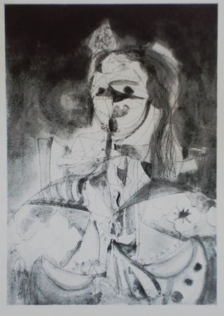 Aguafuerte Y Aguatinta Condo - More sketches of Spain-For Miles Davis 7