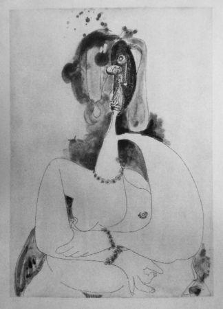 Aguafuerte Y Aguatinta Condo - More sketches of Spain-For Miles Davis 8