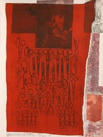 Serigrafía Rauschenberg - MOST DISTANT VISIBLE PART OF THE SEA