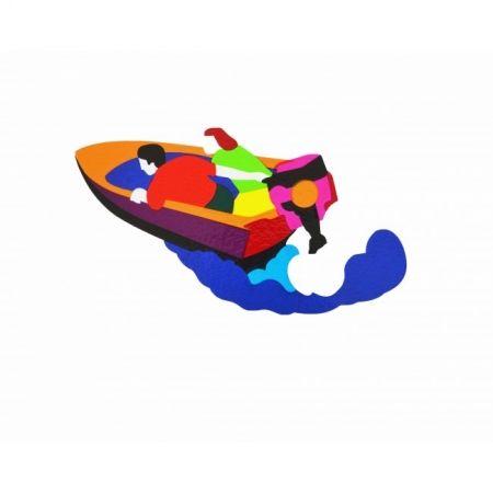 Serigrafía Lodola - Motorboat