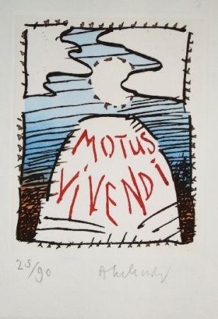Aguafuerte Y Aguatinta Alechinsky - MOTUS VIVENDI