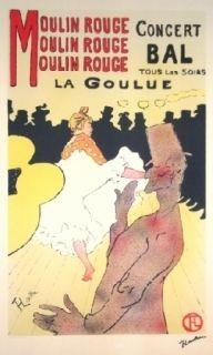 Litografía Toulouse-Lautrec - Moulin Rouge