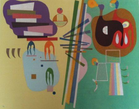 Litografía Kandinsky - Mouvement