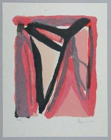 Litografía Van Velde - Mp 294