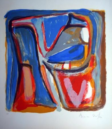 Litografía Van Velde - MP 75