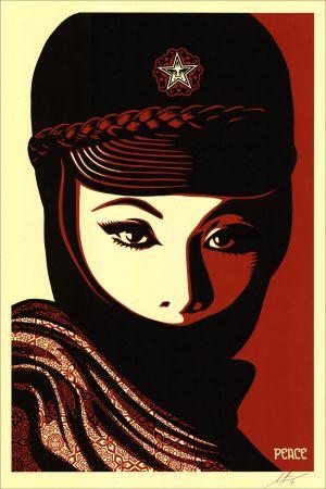 Serigrafía Fairey - Mujer Fatale