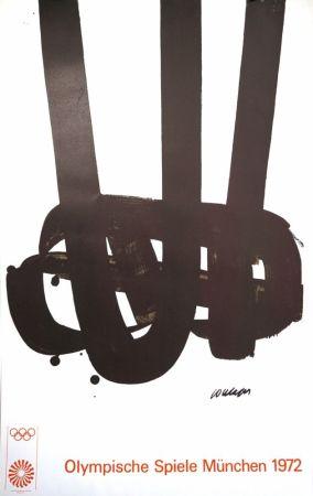 Litografía Soulages - Munich 72