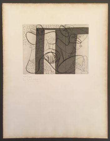 Aguafuerte Y Aguatinta Le Corbusier - Murale (hand-signed & numbered)