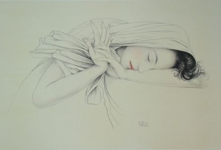 Litografía Sauer - Murasaki