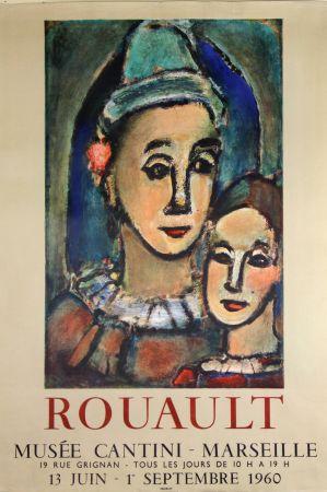 Litografía Rouault - Musée  Cantini