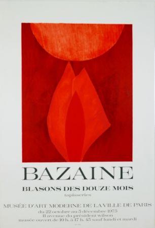 Litografía Bazaine - Musée D'Art Moderne de Paris