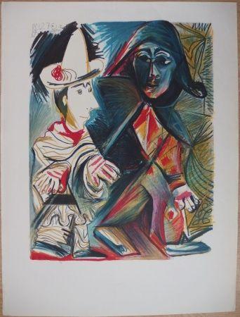 Litografía Picasso - Musée Dynamique - Dakar (épreuve avant la lettre)