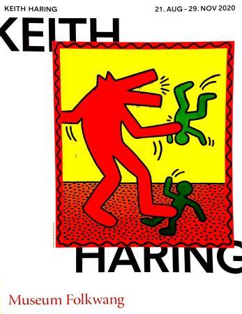 Cartel Haring -  Musée Folkwang de ESSEN