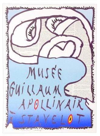 Cartel Alechinsky - Musée Guillaume Apollinaire