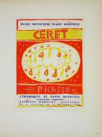 Litografía Picasso (After) - Musée  Municipal de Céret  1958