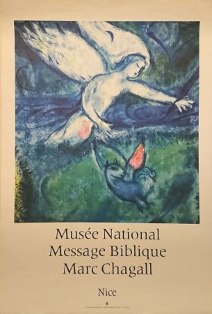 Cartel Chagall - '' Musée National Message Biblique ''