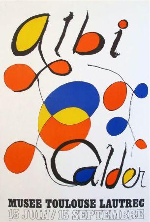 Litografía Calder - '' Musée Toulouse Lautrec ''