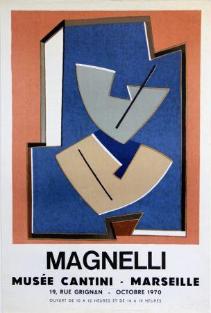 Litografía Magnelli - Musee Cantini  Marseille