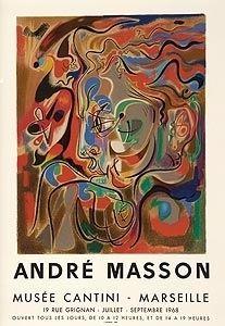 Litografía Masson - Musee Cantini, mourlot