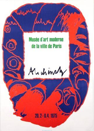 Litografía Alechinsky - Musee d'Art Moderne de Paris