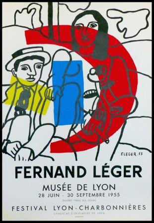 Litografía Leger - MUSEE DE LYON - FESTIVAL LYON CHARBONNIERES
