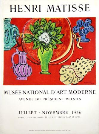 Litografía Matisse - Musee Natianal D'Art Moderne