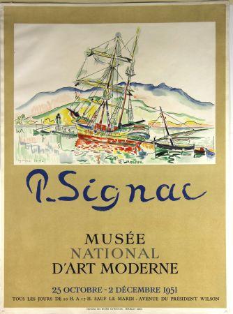 Litografía Signac - Musee National d'Art Moderne