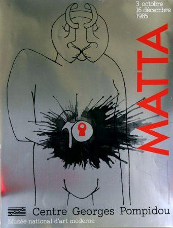 Offset Matta - Musee National D'Art Moderne