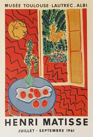 Litografía Matisse - Musee Toulouse Lautrec  Albi