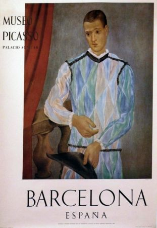 Cartel Picasso - '' Museo Barcelona ''